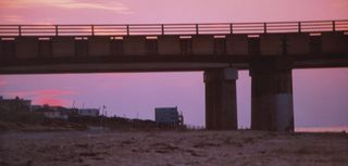 Panoramic on beach