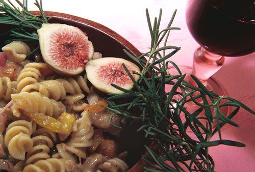 Chicken pasta salad fig balsamic dressing 2