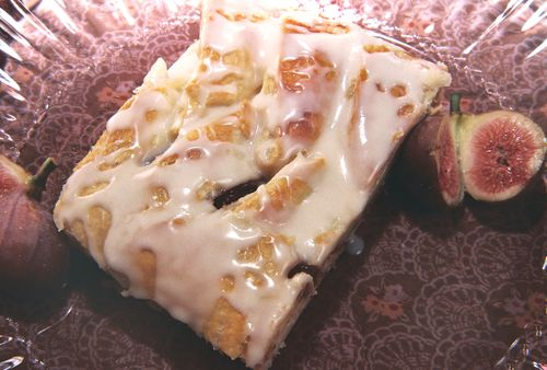 Cinnamon fig cheese danish 1