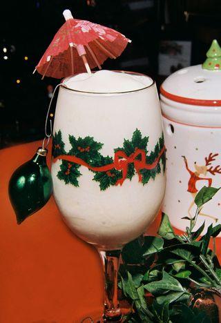 Amaretto milkshake 2