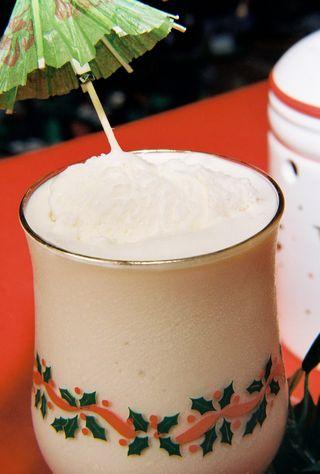 Eggnog milkshake 2