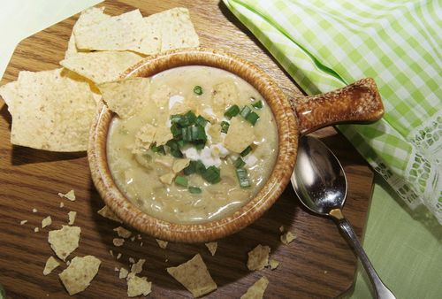 Creamy Chicken Lime And White Bean Chili 5
