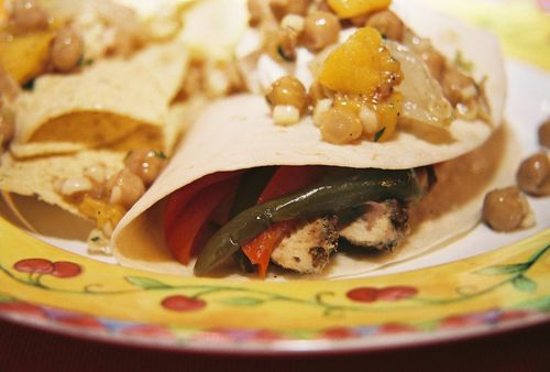 Citrus Chili Chicken Fajitas 1