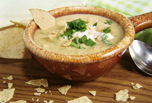 Creamy Chicken Lime And White Bean Chili 1