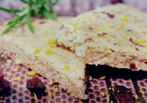 Citrus Cognac & Rosemary Walnut Shortbread 5