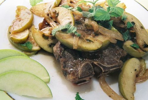 Lamb Chops In An Apple Mint Cream 3