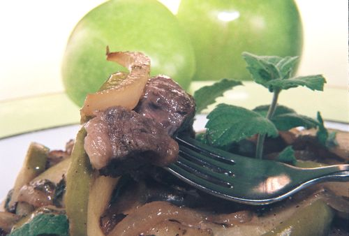 Lamb Chops In An Apple Mint Cream 4