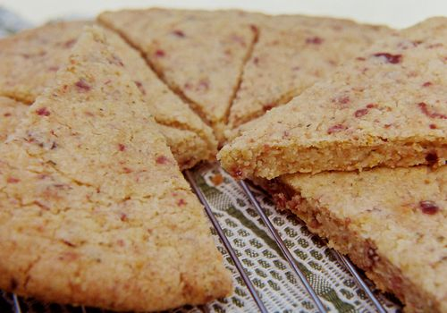 Citrus Cognac & Rosemary Walnut Shortbread 2