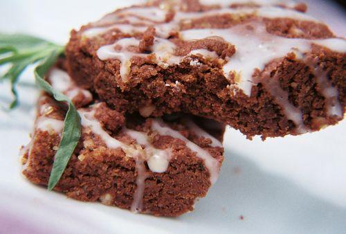 Tarragon And Macadamia Chocolate Shortbread With Hypnotq Liqueur Glaze 7