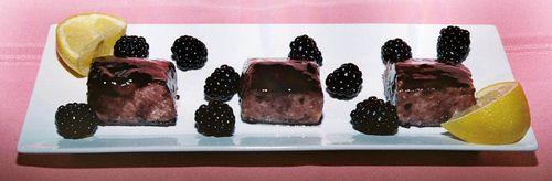 Salmon With A Blackberry Pinot Noir Glaze 2