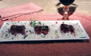 Salmon With A Blackberry Pinot Noir Glaze 4