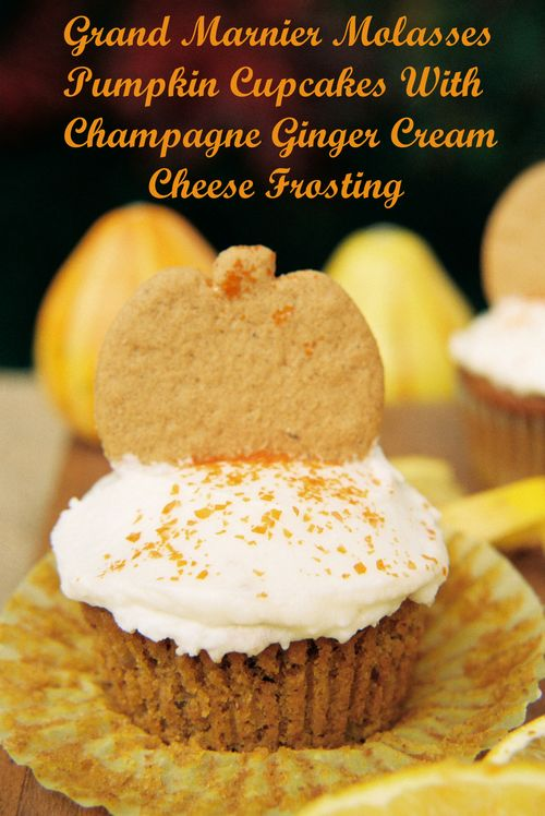 ... Molasses Pumpkin Cupcakes With Champagne Ginger Cream Cheese Frosting