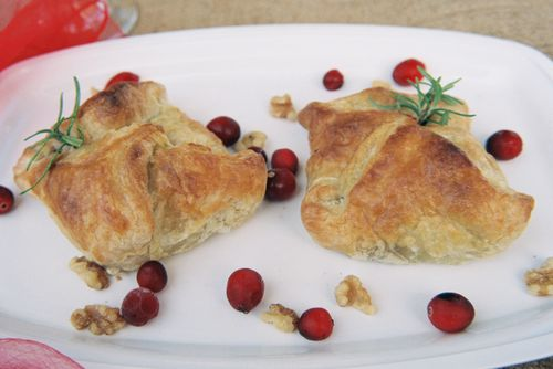 Peppery Steak Cranberry And Walnut Pockets 2