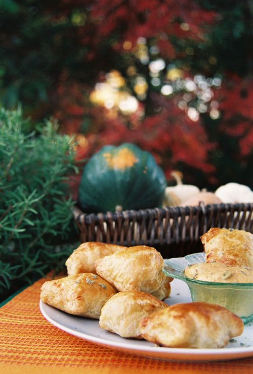 Spicy Turkey Pastries With Jalapeno Pumpkin Sauce 4