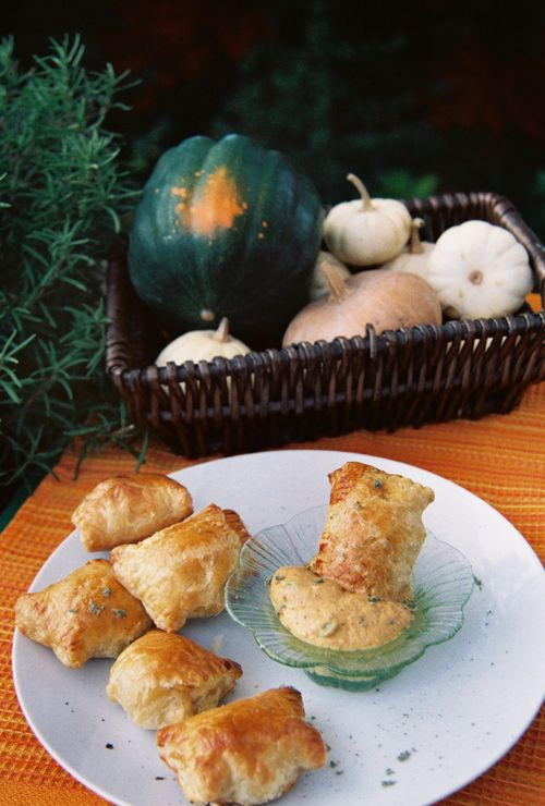 Spicy Turkey Pastries With Jalapeno Pumpkin Sauce 5