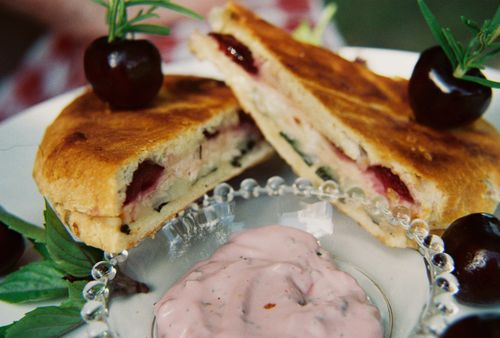 Smoked turkey horseradish cheddar and cherry panini 5
