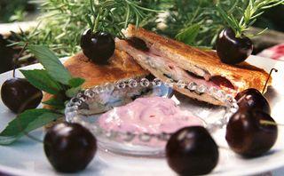 Smoked turkey horseradish cheddar and cherry panini 2