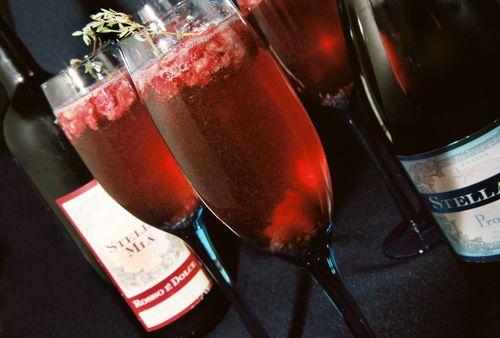 Raspberry thyme mimosa 2