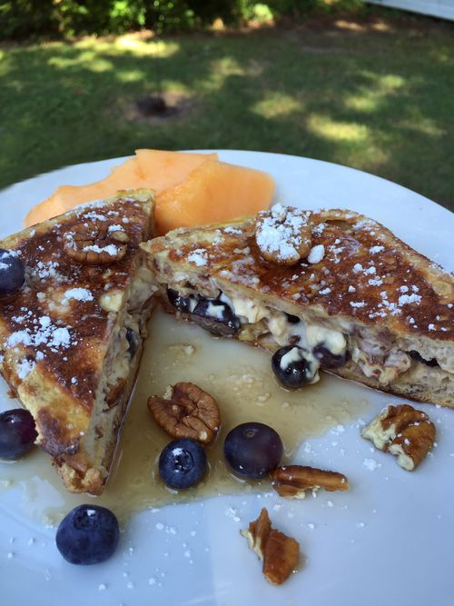 Blueberry Tequila Azul And Pecan Stuffed French Toast 5