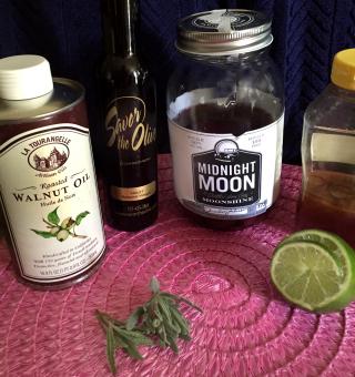 Blackberry Turkey Salad With Moonshine Lavender And Violet Balsamic Vinaigrette 5