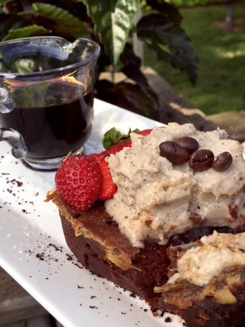 White Russian Chocolate French Toast With Expresso Cream And Kahlua 9