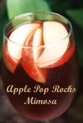 Apple pop rocks mimosa