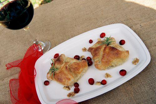 Peppery Steak Cranberry And Walnut Pockets 4