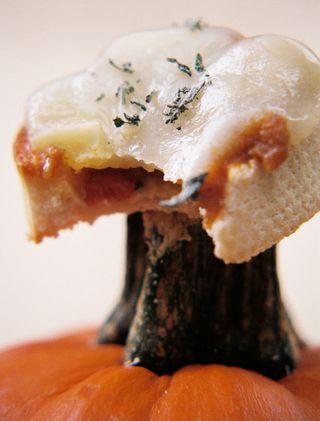 Pumpkin pancetta bruschetta 6