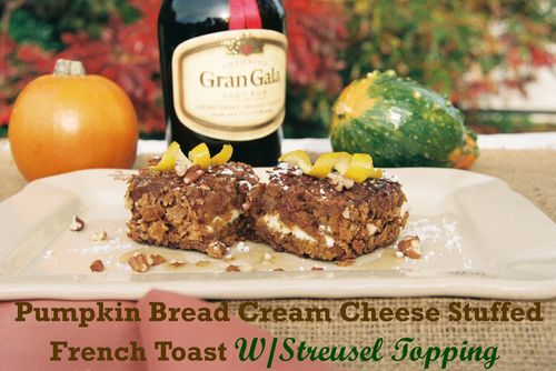 Pumpkin Bread Cream Cheese Stuffed French Toast 1 copy