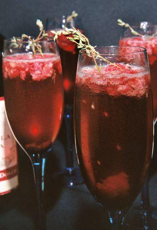 Raspberry thyme mimosa 1