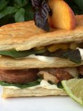 BBQ Pork And Peach Panini With Roasted Hatch Chili And Garlic Mayonnaise 4 19.18.59