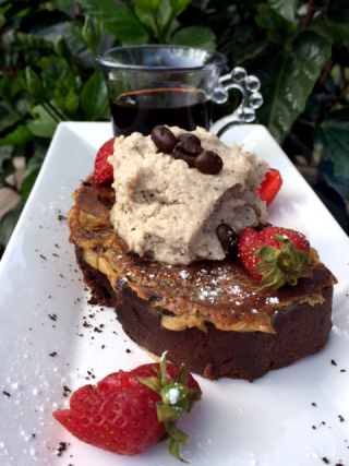 White Russian Chocolate French Toast With Expresso Cream And Kahlua 1
