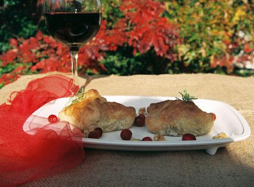 Peppery Steak Cranberry And Walnut Pockets 3