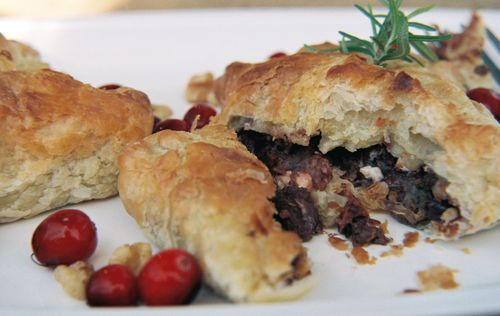 Peppery Steak Cranberry And Walnut Pockets 6