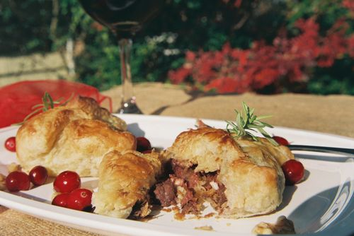 Peppery Steak Cranberry And Walnut Pockets 7