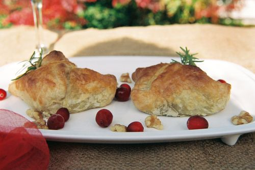 Peppery Steak Cranberry And Walnut Pockets 1