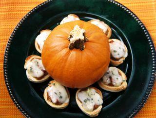 Pumpkin pancetta bruschetta 5