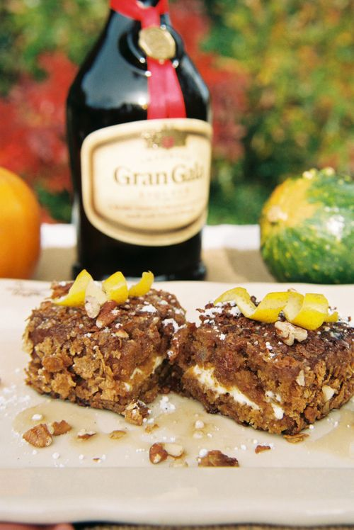 Pumpkin Bread Cream Cheese Stuffed French Toast With ...