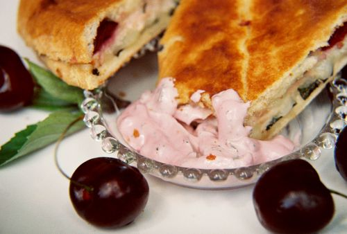 Smoked turkey horseradish cheddar and cherry panini 8