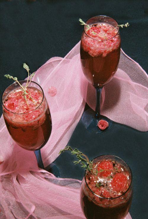 Raspberry thyme mimosa 3