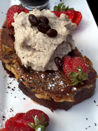 White Russian Chocolate French Toast With Expresso Cream And Kahlua 2