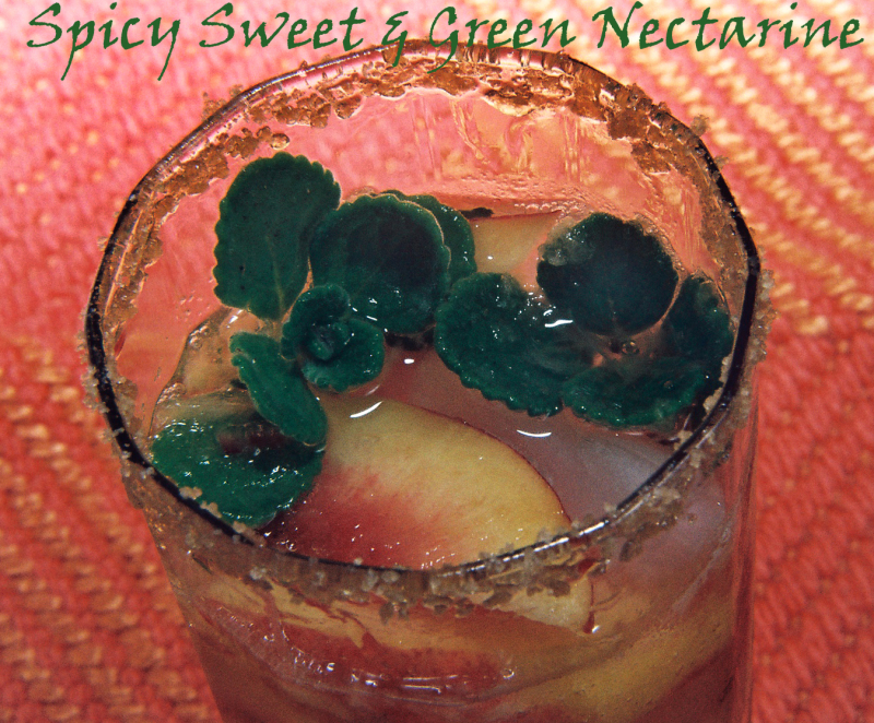 Spicy Sweet And Green Nectarine 1 copy